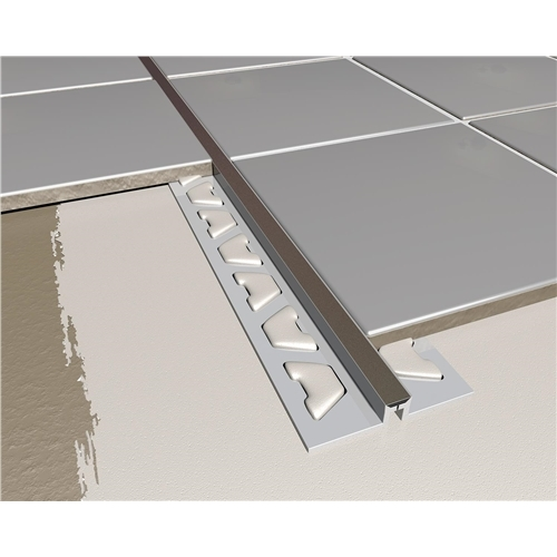 PVC Tile Expansion Joint Black