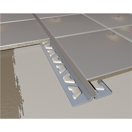 Grey Aluminium Tile Expansion Joint