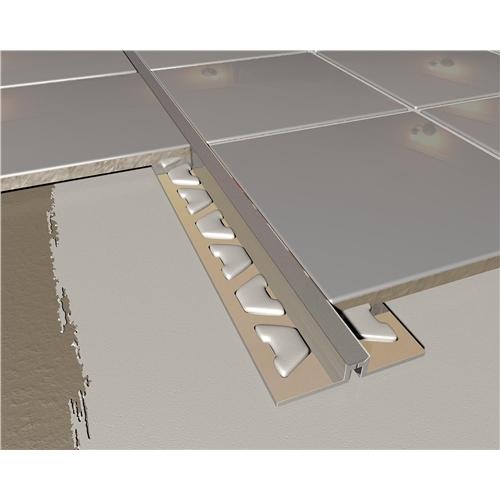 Tile expansion joint design ideas