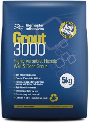 White Flexible Grout
