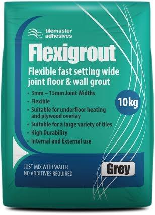 White Flexible Grout