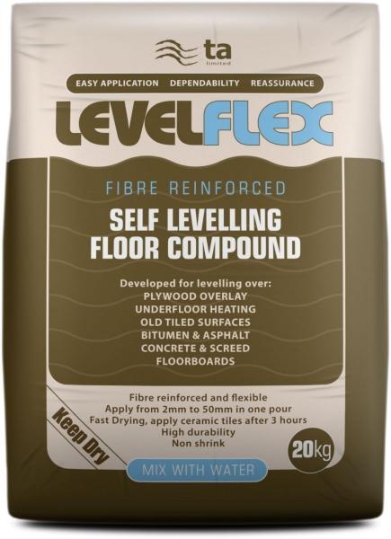 LevelFlex Fibre Reinforced Levelling Compound