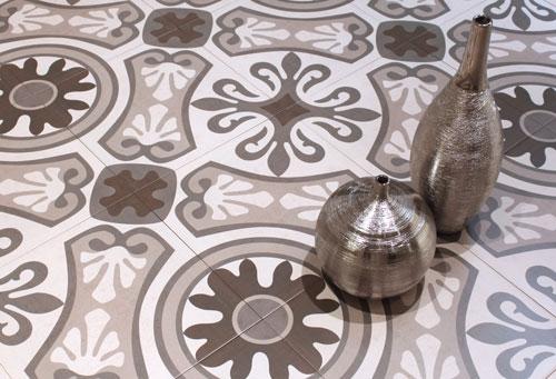 Moroccan Pattern Encaustic Style Tiles 33x33
