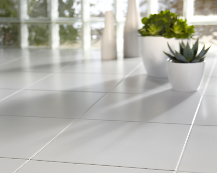 White Floor and Wall Tiles 20x20cm