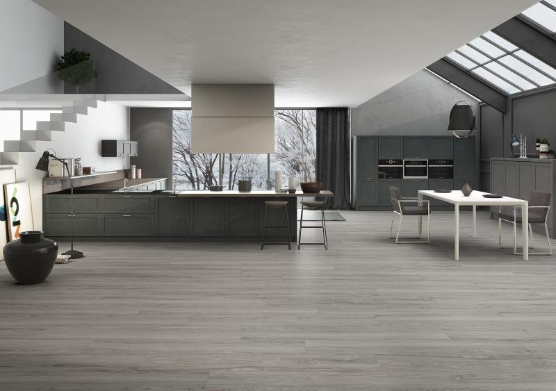 Wam Grey Wood Effect Porcelain Tiles
