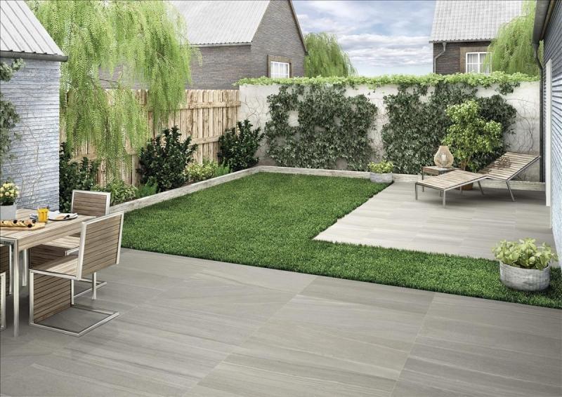 Bourgogne Dark Stone Effect Tiles