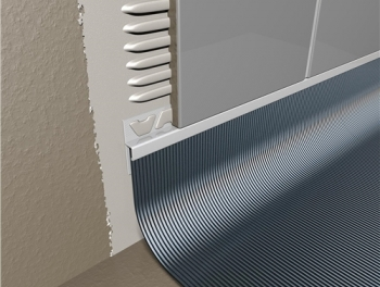 Tile to Vinyl Capping
