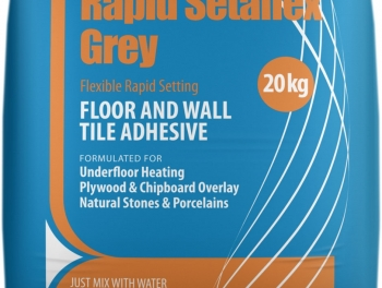 Grey Flexible Rapid Setting Flexible Tile Adhesive