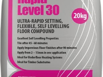 Ultra-Rapid Setting Flexible Self Levelling Floor Compound