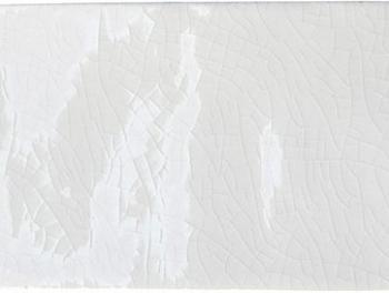 Antique Crackle Glaze Metro White 7.5x15