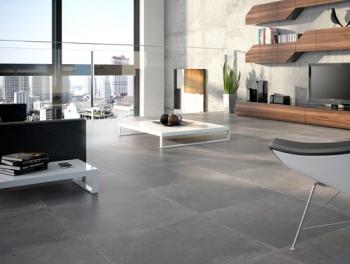 Grey 60x60 Cement Effect Porcelain Tiles