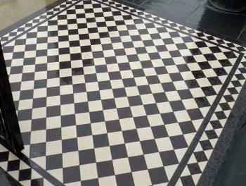 Black Victorian Quarry Tiles