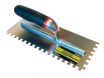 Stainless Steel Notched Trowel