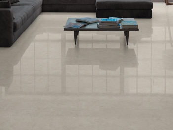 Cream Polished Porcelain Tile