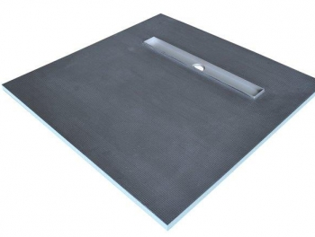 900x900 Linear Drain Shower Tray