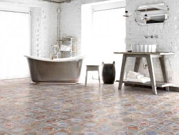 Multicoloured Encaustic Style Tiles 20x20