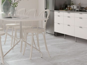 Bernin Grey 60x60 Stone Effect Porcelain Tile
