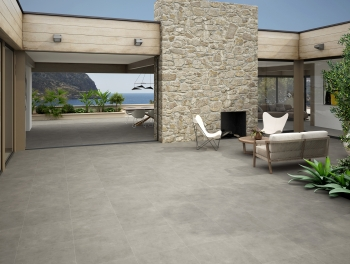 Outdoor Grey Porcelain Tile 60x60