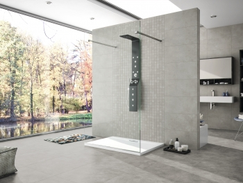 Grey Cement Effect Porcelain Tile 60x60