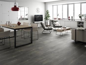 Great Value Dark Wood Effect Tiles
