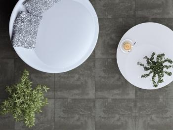 Dark Grey Anti Slip Floor Tiles